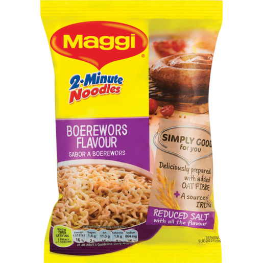 Maggi Boerewors Flavoured 2 Minute Noodles