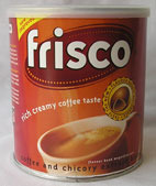 Frisco Instant Coffee - Quality Coffee and Chicory Blend 250g