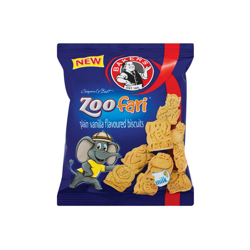 Bakers Zoofari Biscuits 40g