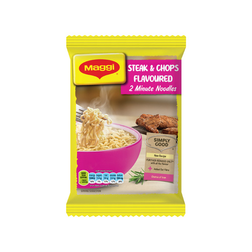 Maggi Steak & Chops Flavoured 2 Minute Noodles